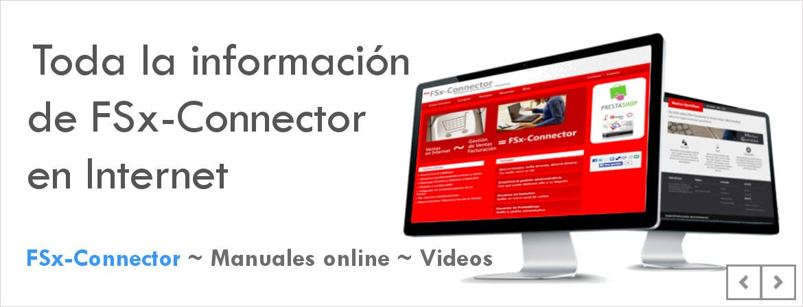 FSx-Connector - El enlace entre FactuSOL y PrestaShop